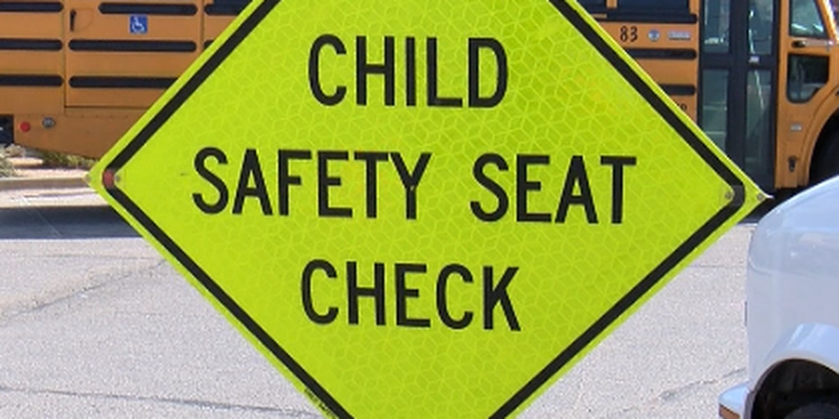 Free child seat inspections to be held in La. on Sept. 21