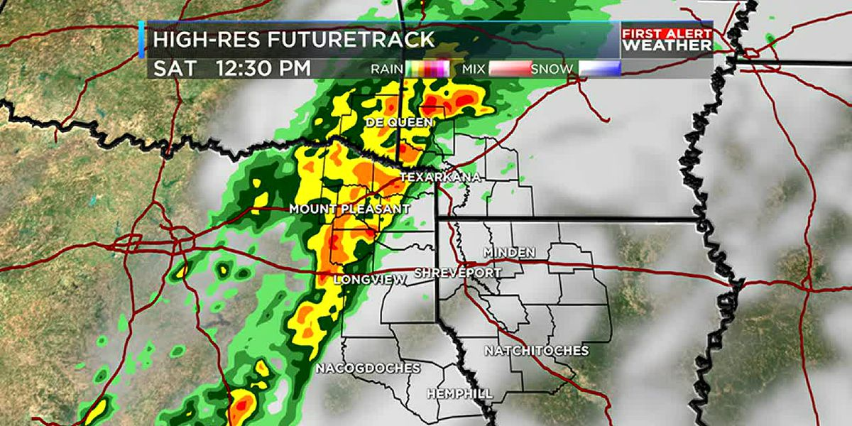 Saturday forecast: Severe storms possible