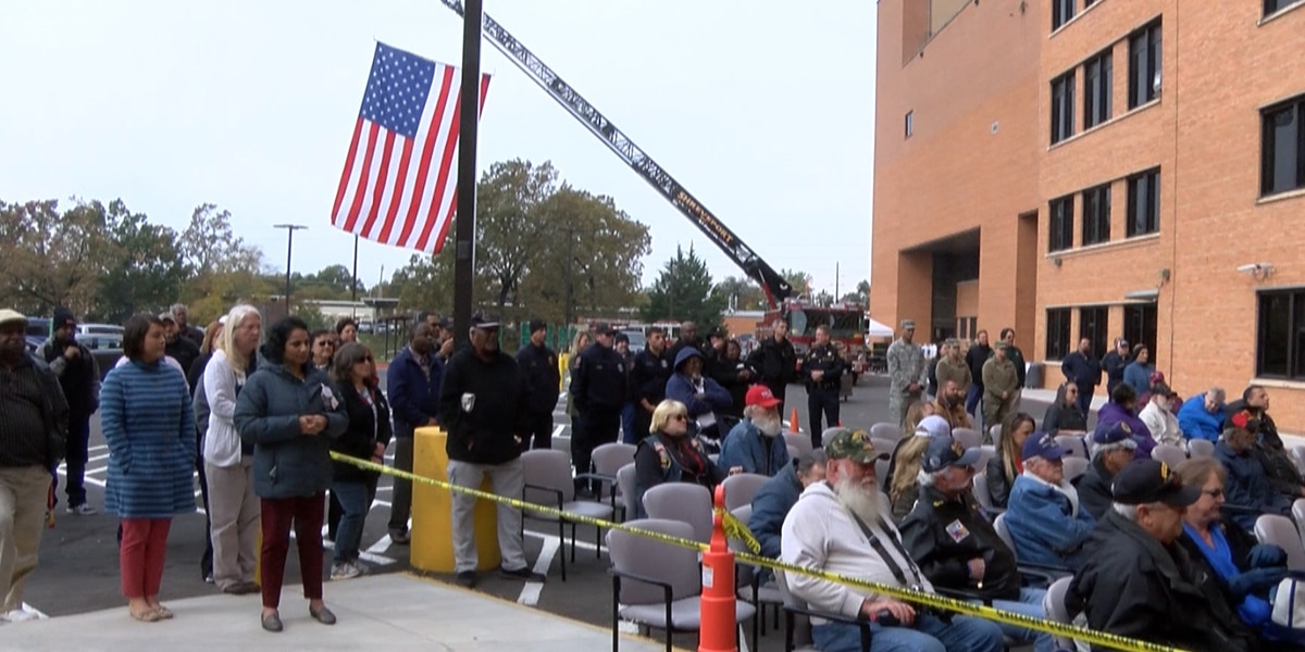 Overton Brooks VA holds early Veterans Day observance