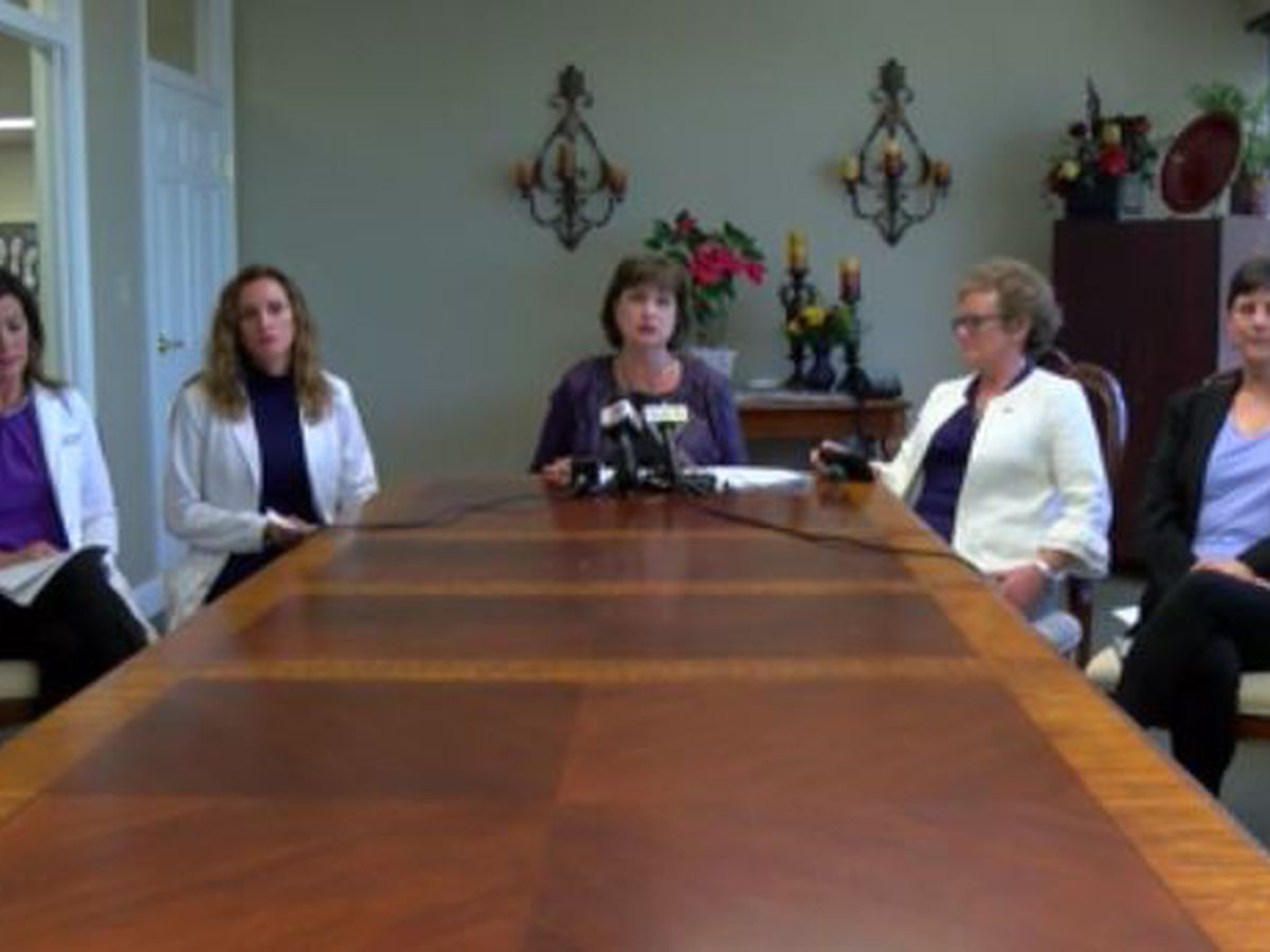 Attorney, LSU Health Sciences employees speak at news conference about allegations against medical school chancellor
