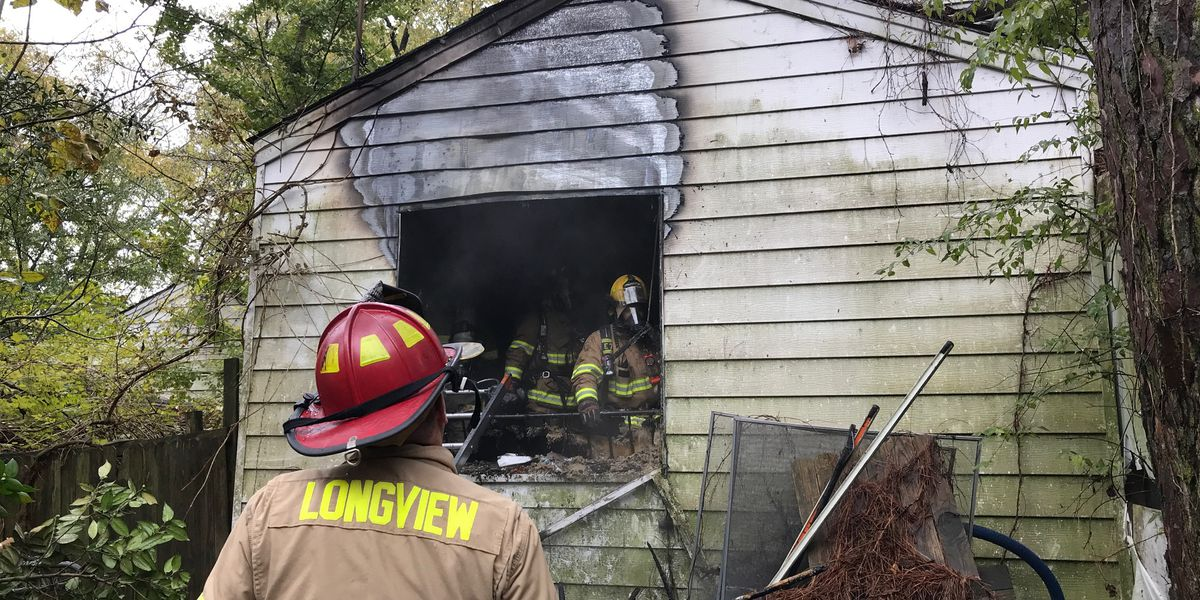 Longview crews contain fire of 'unoccupied' structure