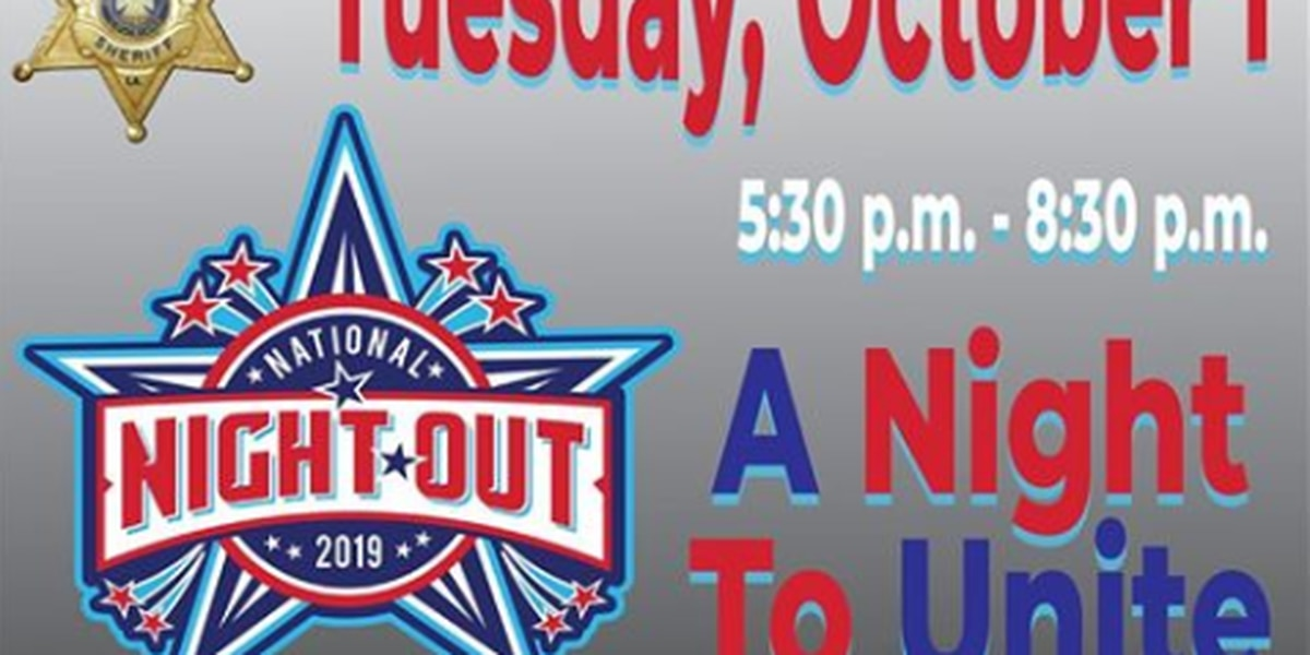 National Night Out Oct. 1 in Bossier Parish