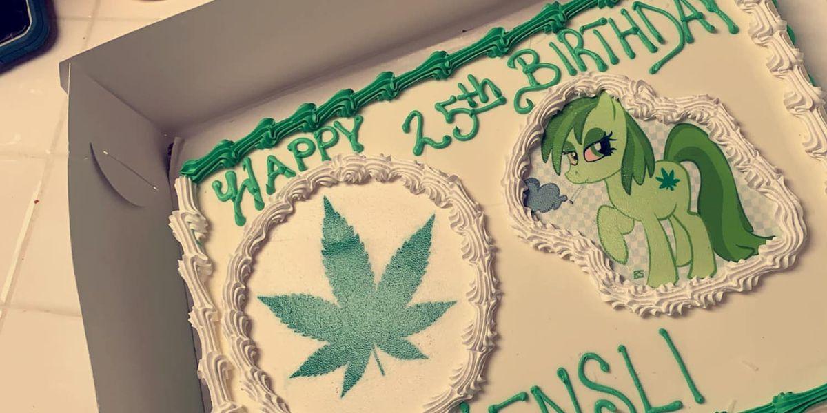Baker makes marijuana birthday cake, it was supposed to be Moana