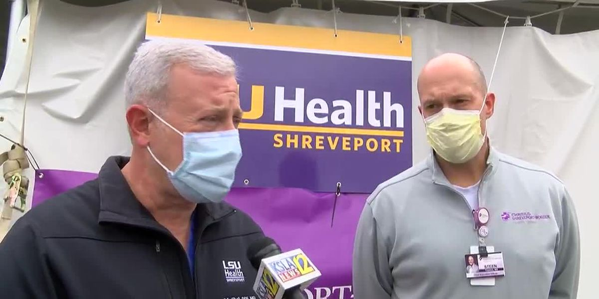 RAW INTERVIEW: LSU Health Chancellor Dr. GE Ghali and Christus CEO and CMO Dr. Steen Trawick