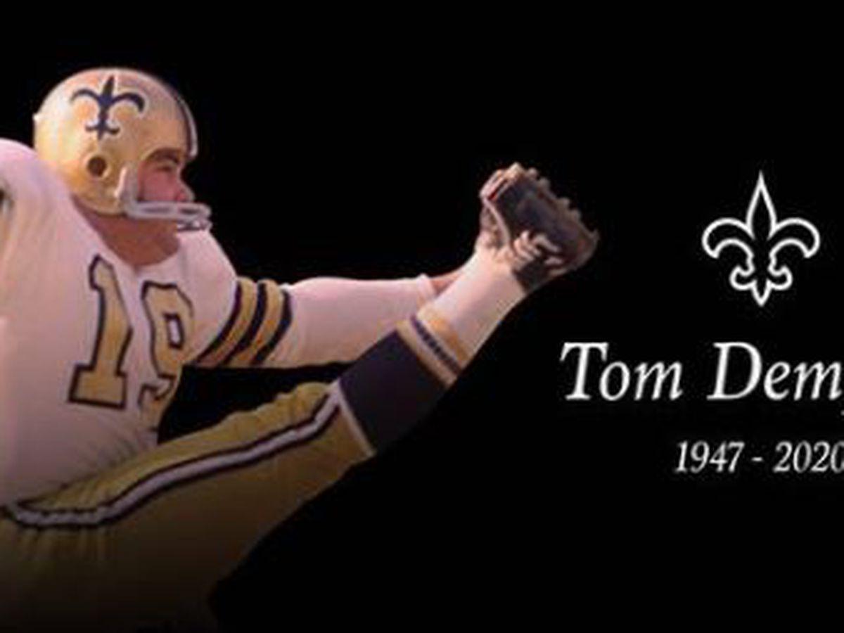 History-making Saints kicker Tom Dempsey dies from coronavirus crisis