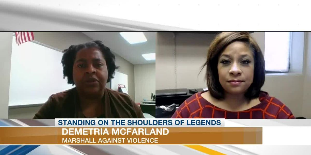BLACK HISTORY MOMENTS: Demetria McFarland, Marshall Against Violence