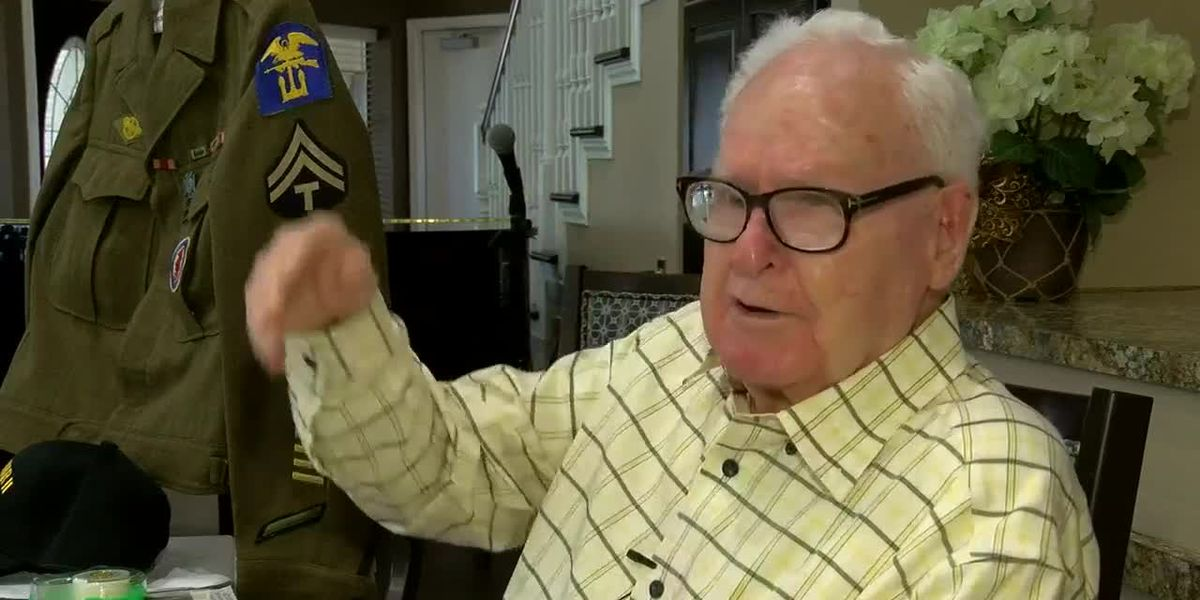 ArkLaTex veteran helped storm the beaches of Normandy on D-Day