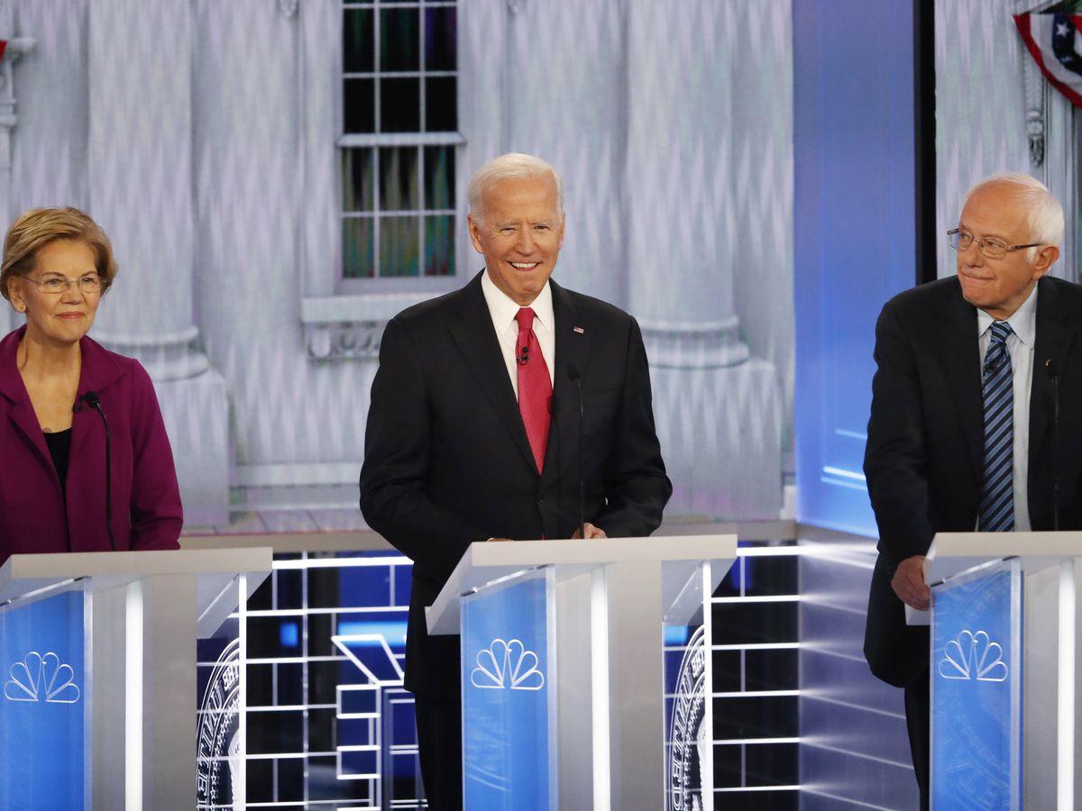 Democrats spar at debate over health care, how to beat Trump