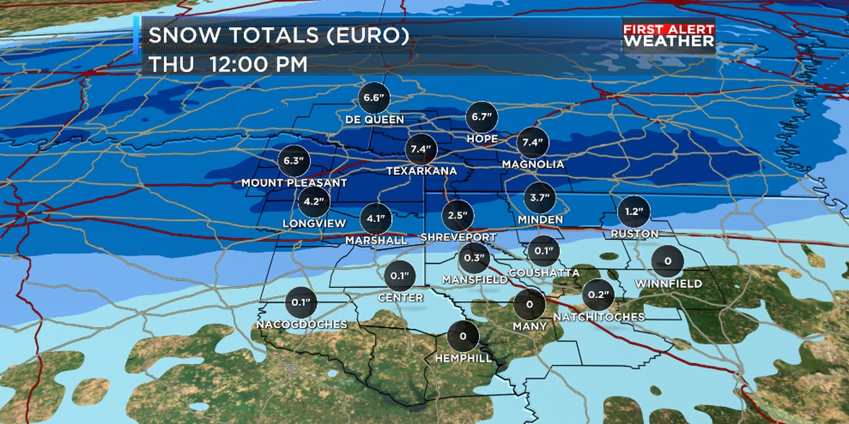 First Alert: Winter Storm Warning issued for more snow and ice on the way