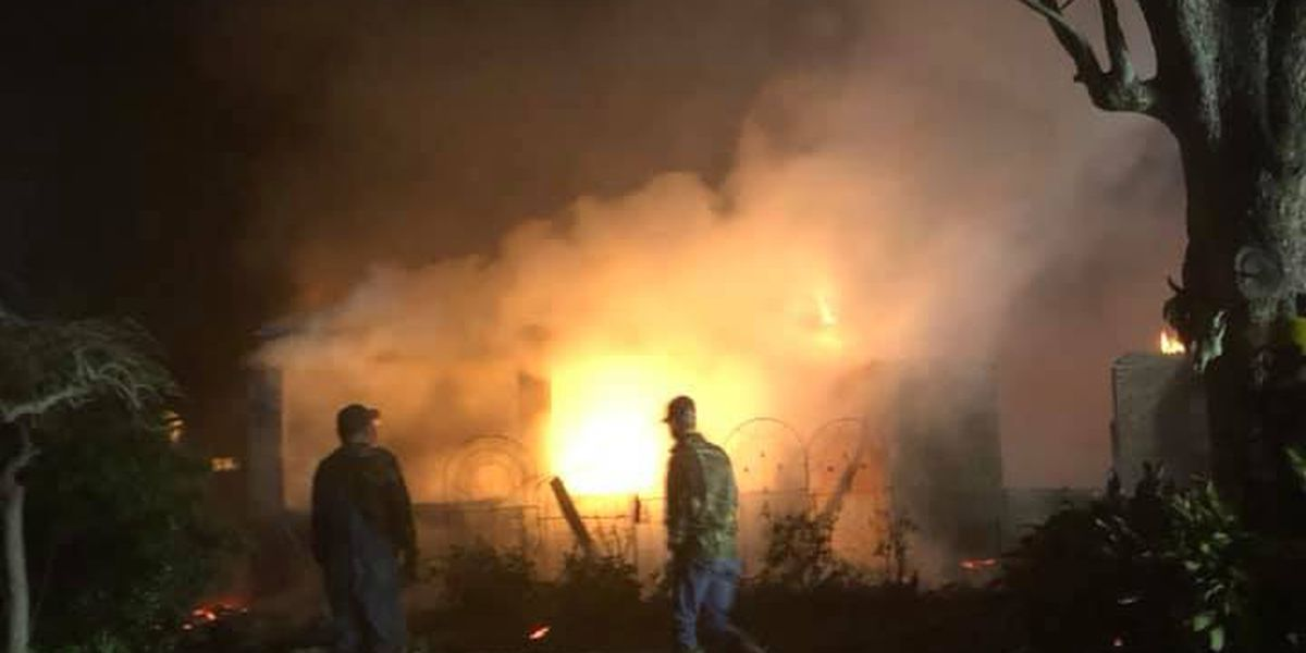 Crews working to determine cause of Natchitoches Parish fire