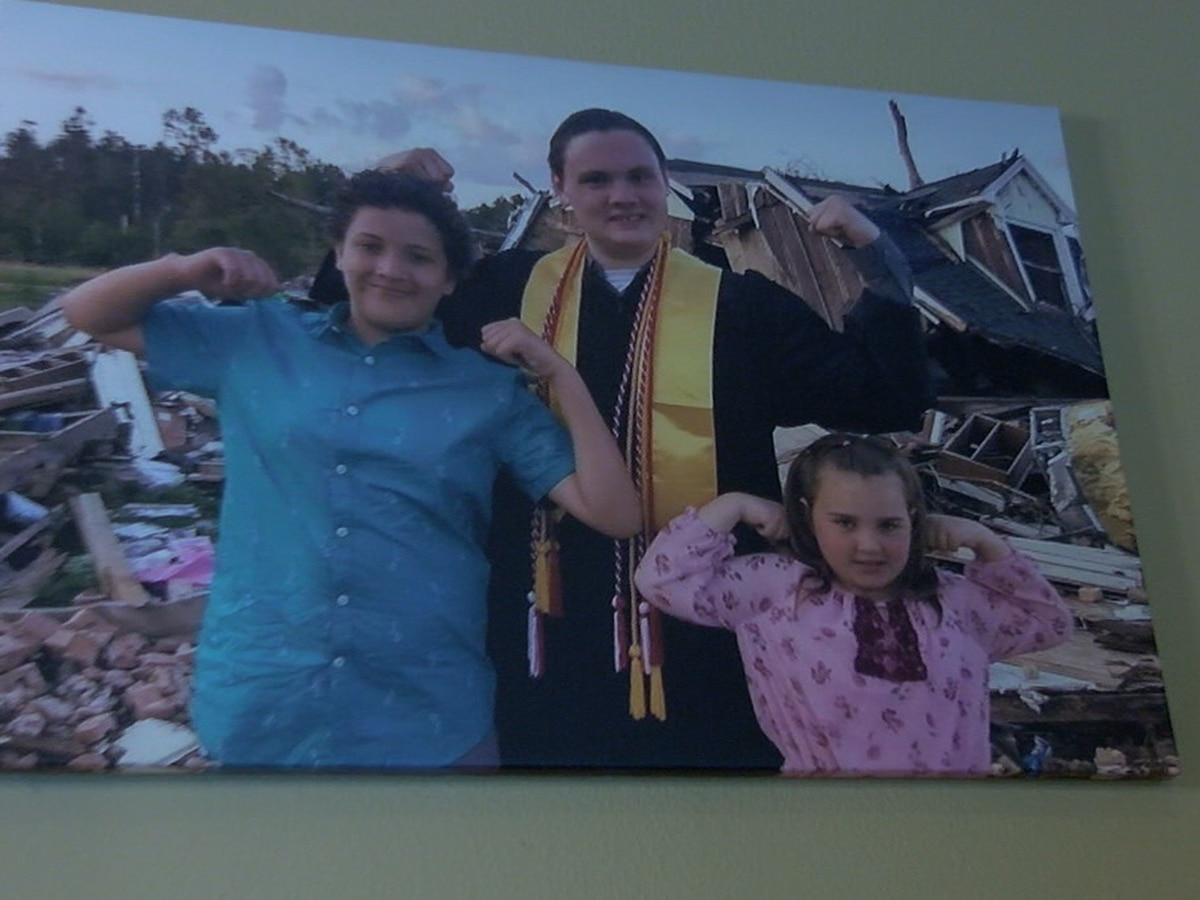 Tornado victims share message of hope months after storm
