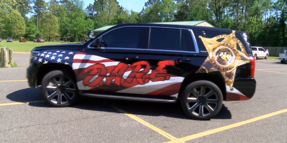 DeSoto Sheriff's Office 'Taking Back Our Streets' with new D.A.R.E. vehicle