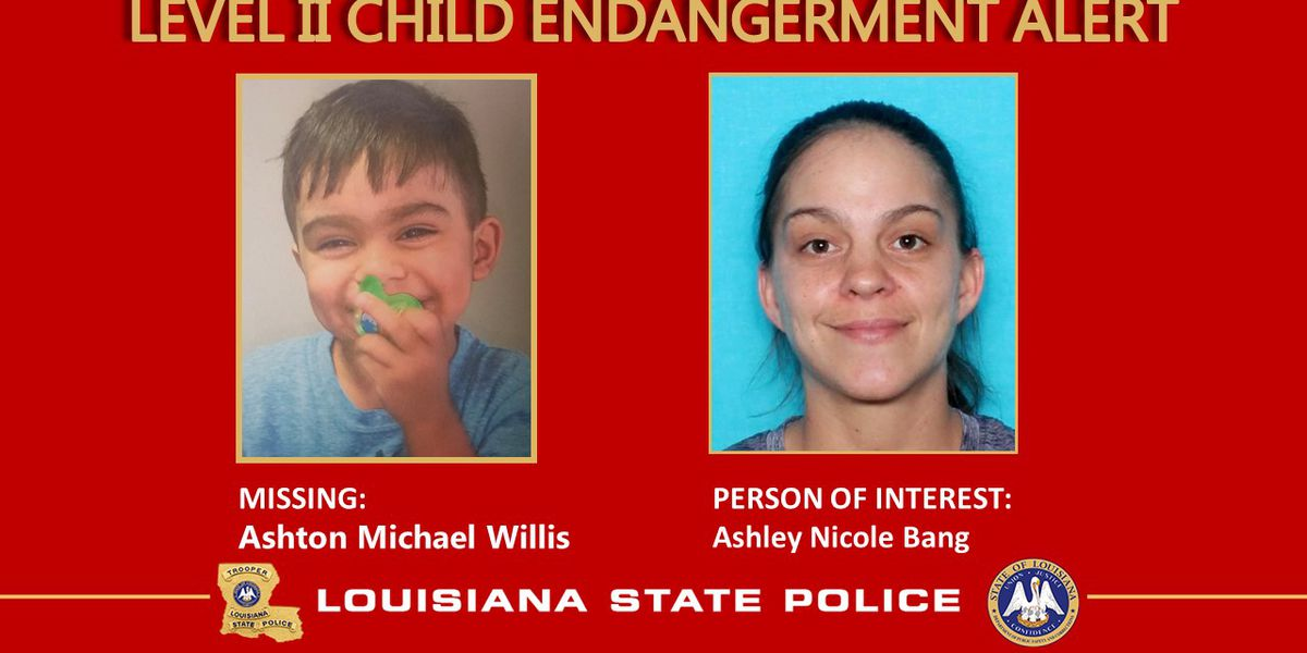 Level II Endangered/Missing Child Advisory issued for Basile child