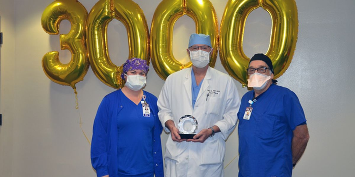 Willis-Knighton surgeon performs 3,000th robotic surgery
