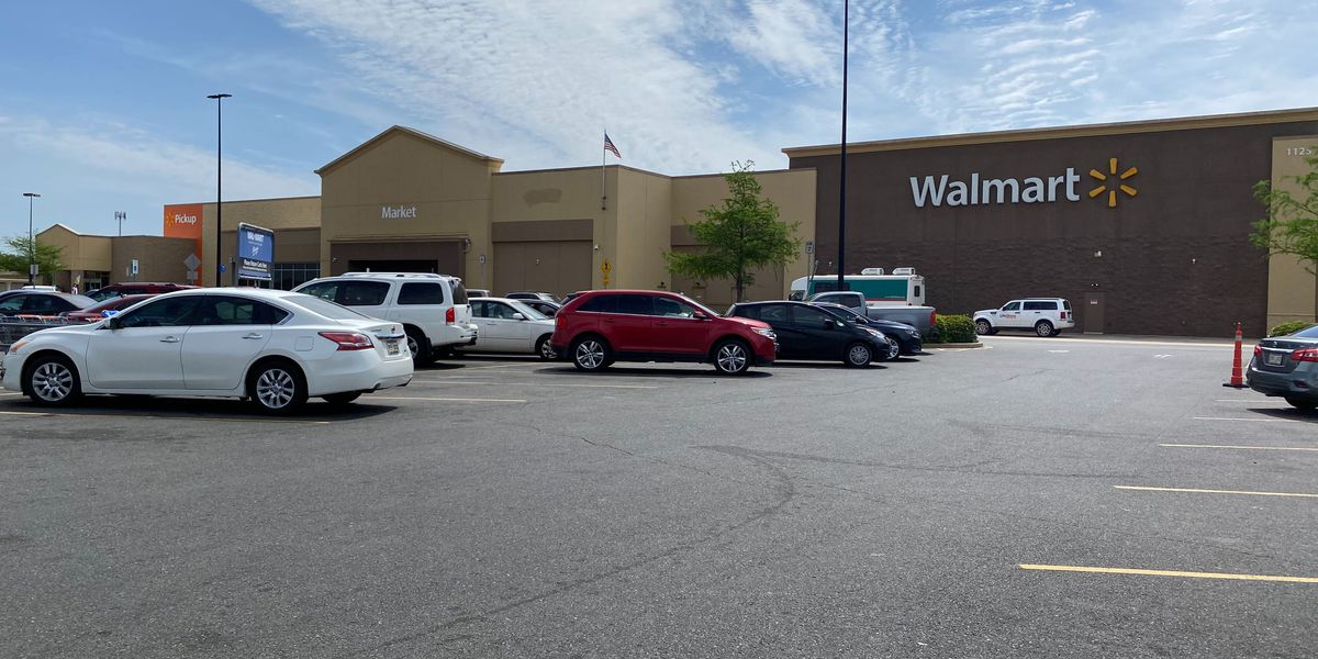 Shreve City Walmart open; first responders testing site in parking lot
