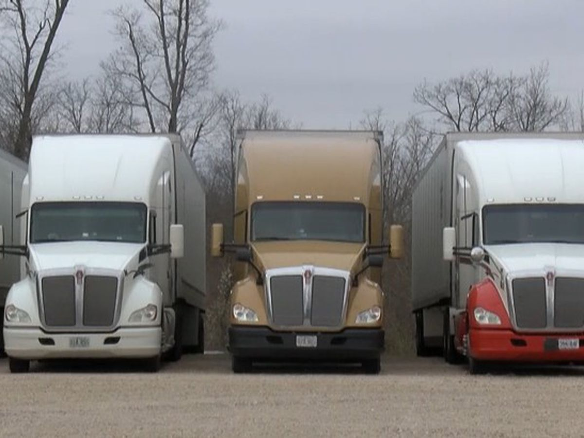 Trucking industry seeing a shortage of drivers