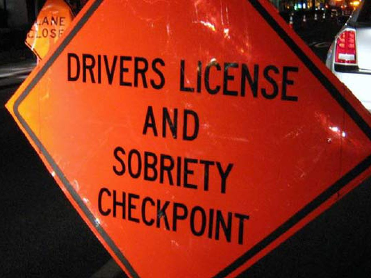 Claiborne Parish is setting up a sobriety checkpoint