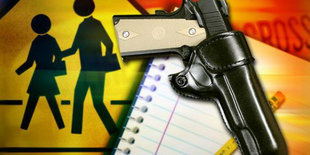 Boy accused of bringing unloaded handgun onto campus