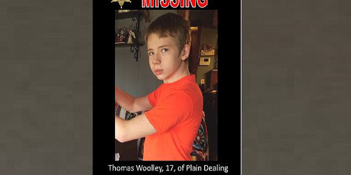 BPSO searching for missing Plain Dealing teen