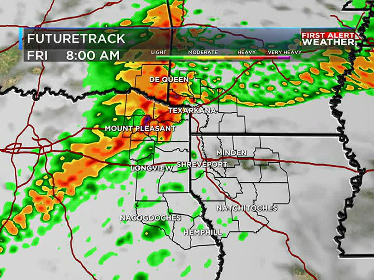First Alert: Rain returns to close out the work week