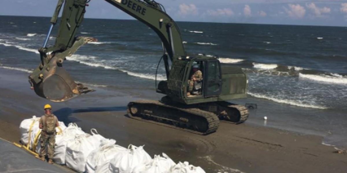 Tattered levee worries Grand Isle mayor as Laura moves towards Gulf Coast