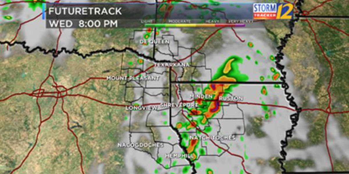 Wednesday is a Severe Weather Alert Day for ArkLaTex
