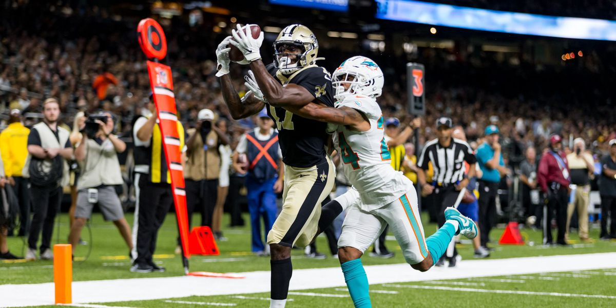 Saints lose final preseason game to Dolphins
