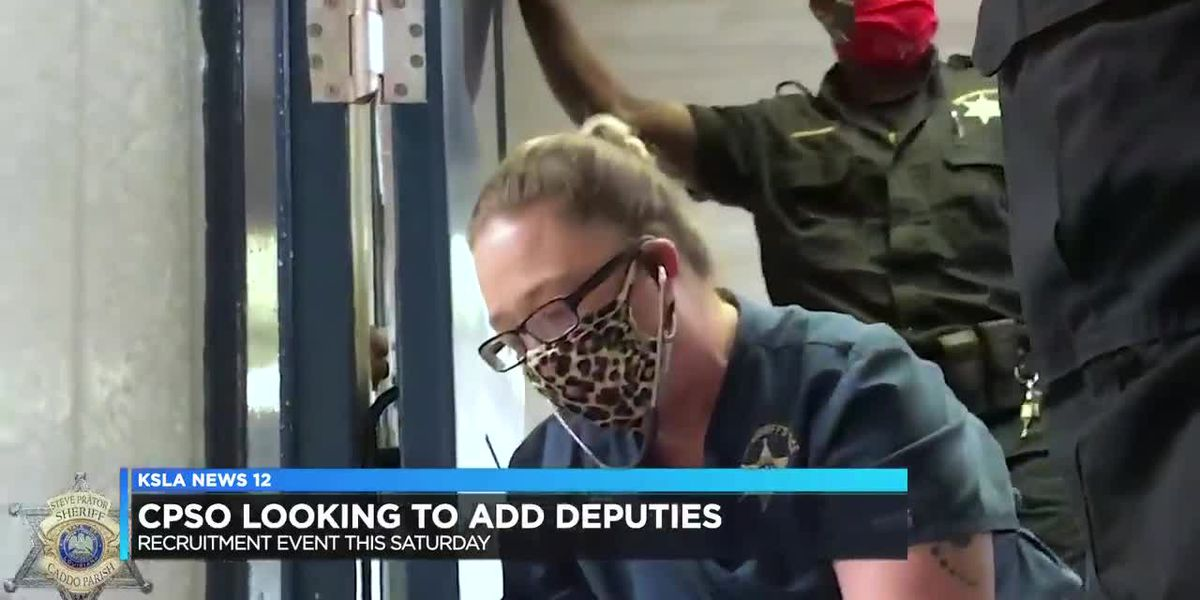 Need a job? Caddo Sheriff's Office looking to add deputies to its ranks