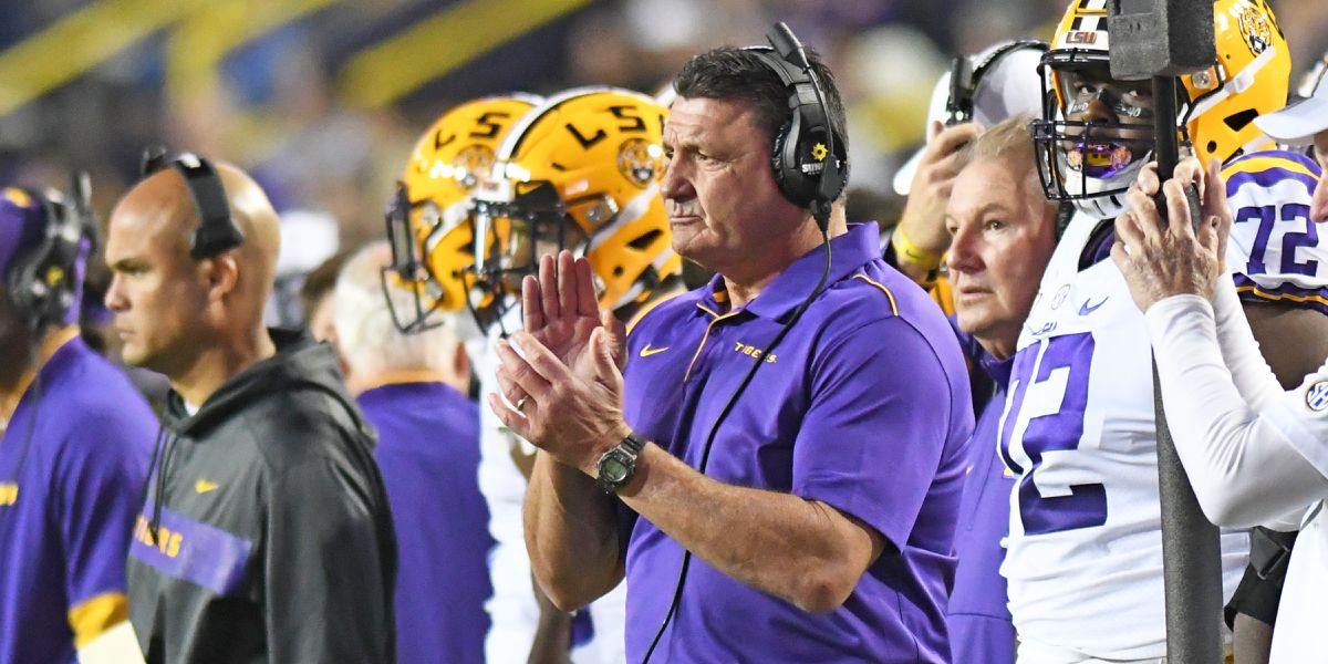 Lunch with Coach O: LSU vs Texas A&M Preview