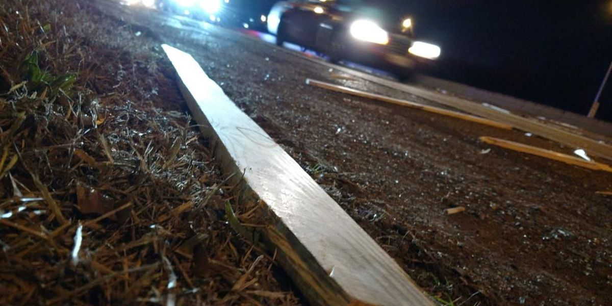 Part of I-20 reopened after lumber spill