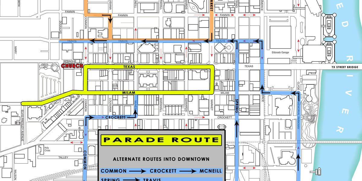 Miss USA 2018 parade route