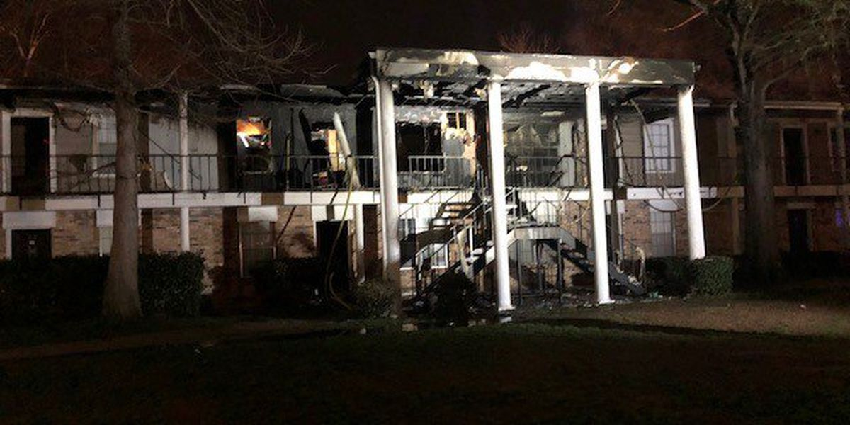 19 residents displaced following fire at Broadmoor apartment complex