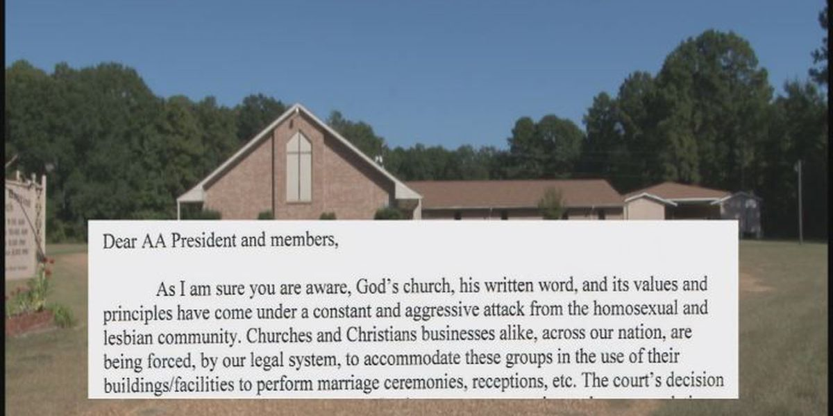 Church boots AA group over gay weddings