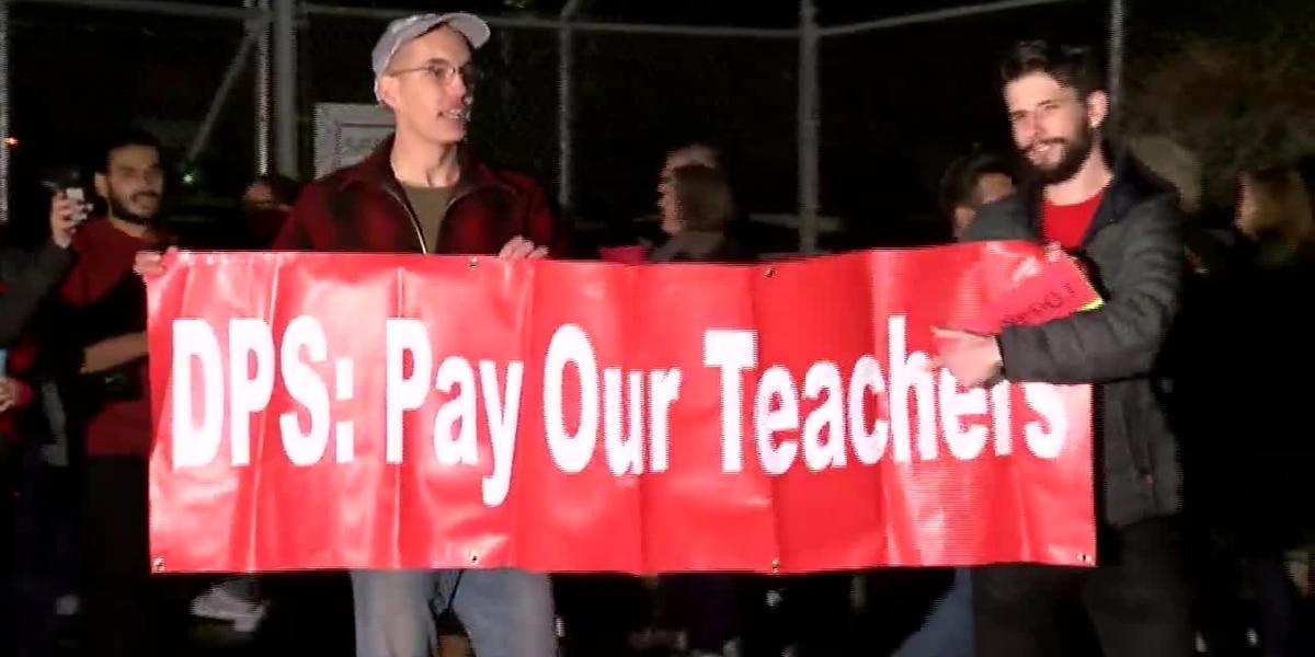 Denver public school teachers considering strike amid pay dispute