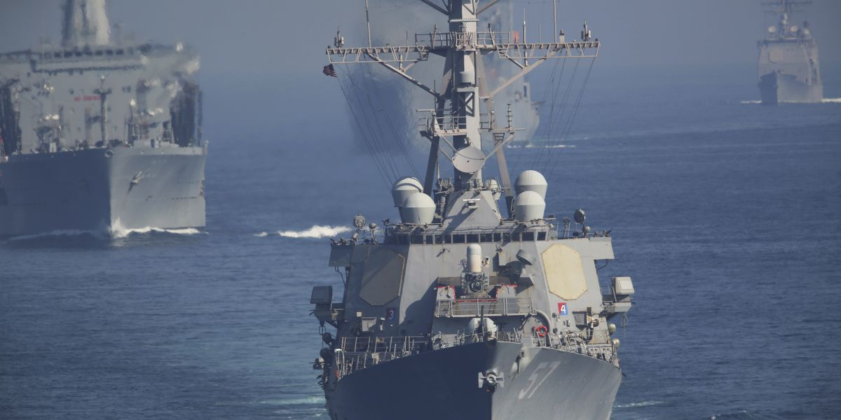 Iran says it is holding US Navy veteran