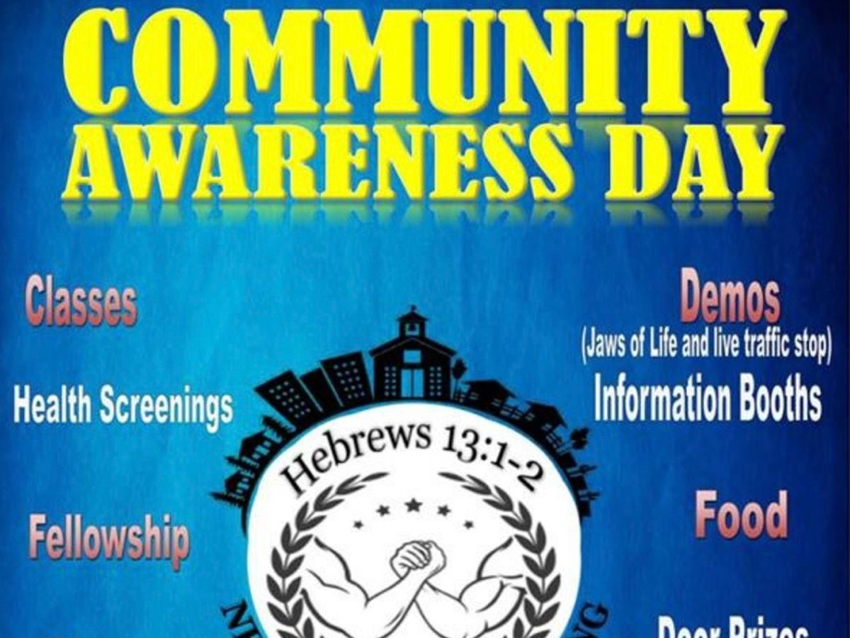 Bossier City churches hosting community awareness day Saturday