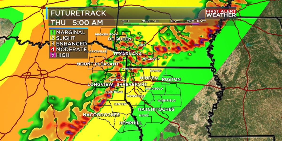 FIRST ALERT: Line of strong storms blasts through tonight - Thursday morning