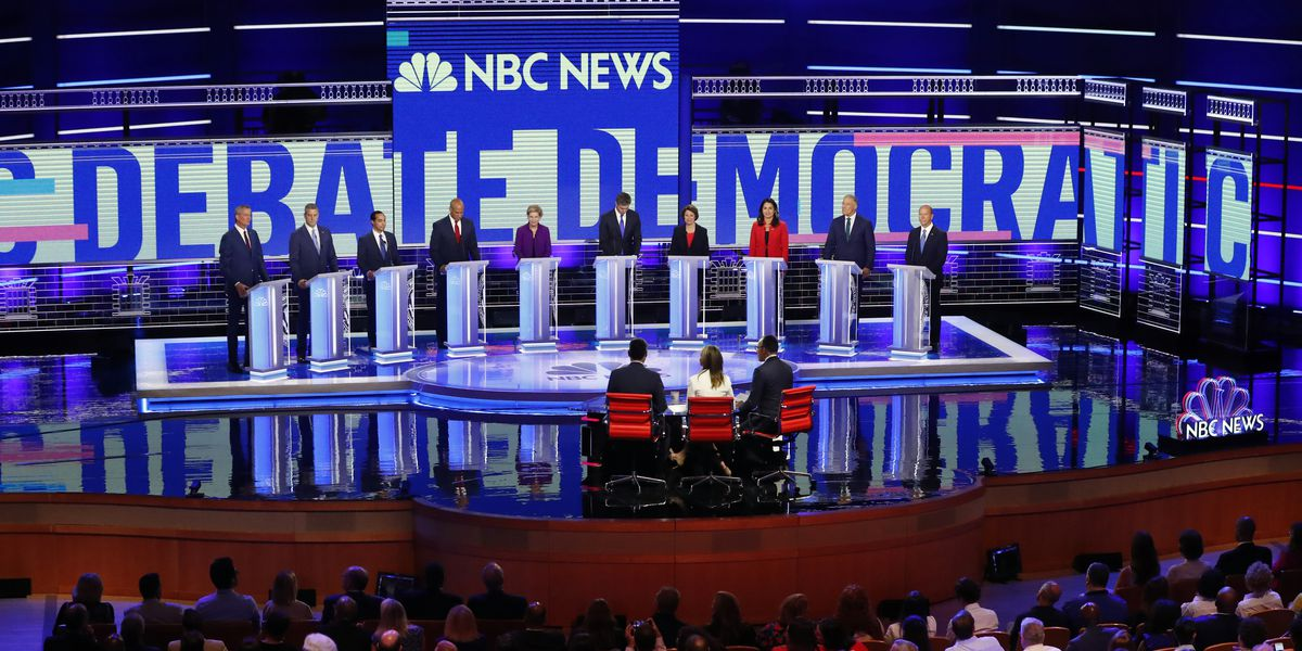 AP FACT CHECK: Dems' missteps on climate, wages in debate