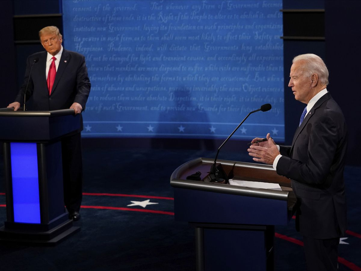 AP FACT CHECK: Examining claims from last Trump-Biden debate