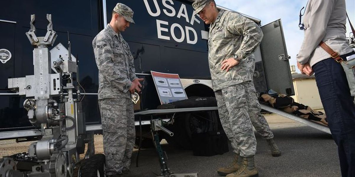 Barksdale EOD Team to conduct training