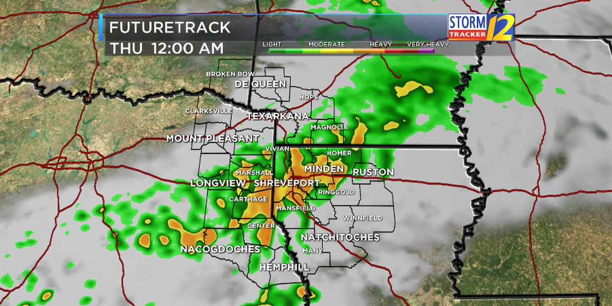 FIRST ALERT: Next round of rain arrives late Wednesday