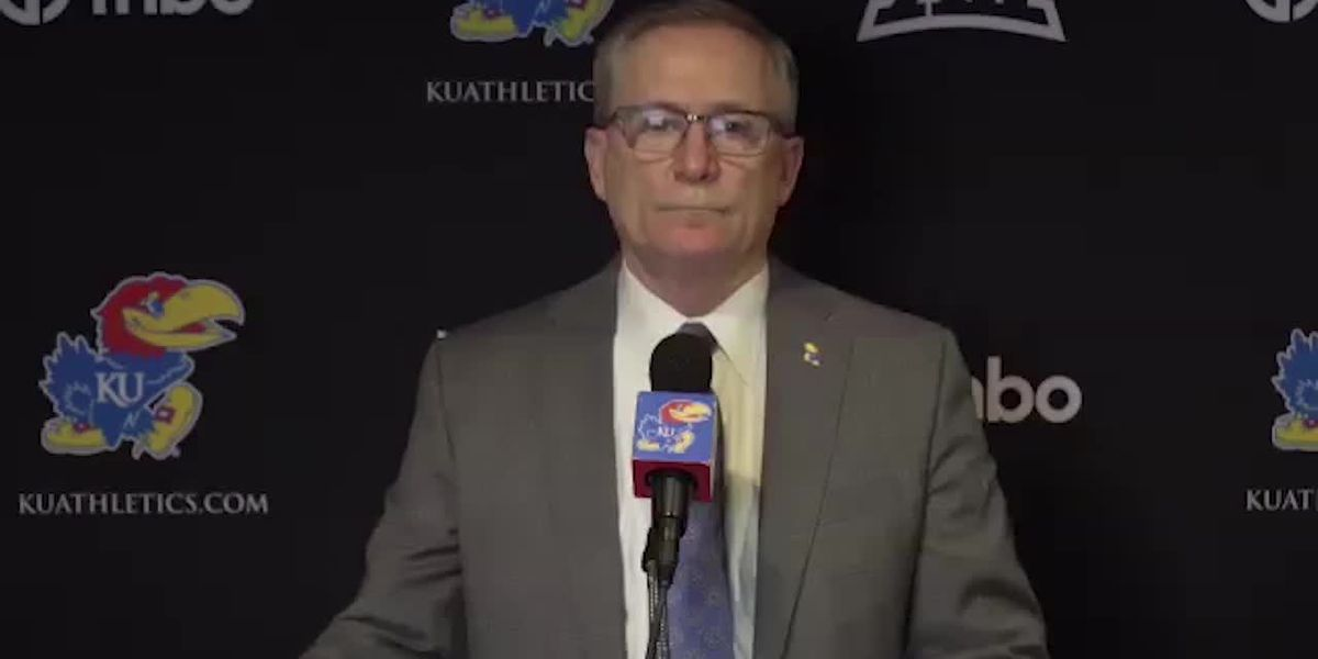 Kansas AD Jeff Long talks about Les Miles no longer being the Jayhawks' head coach