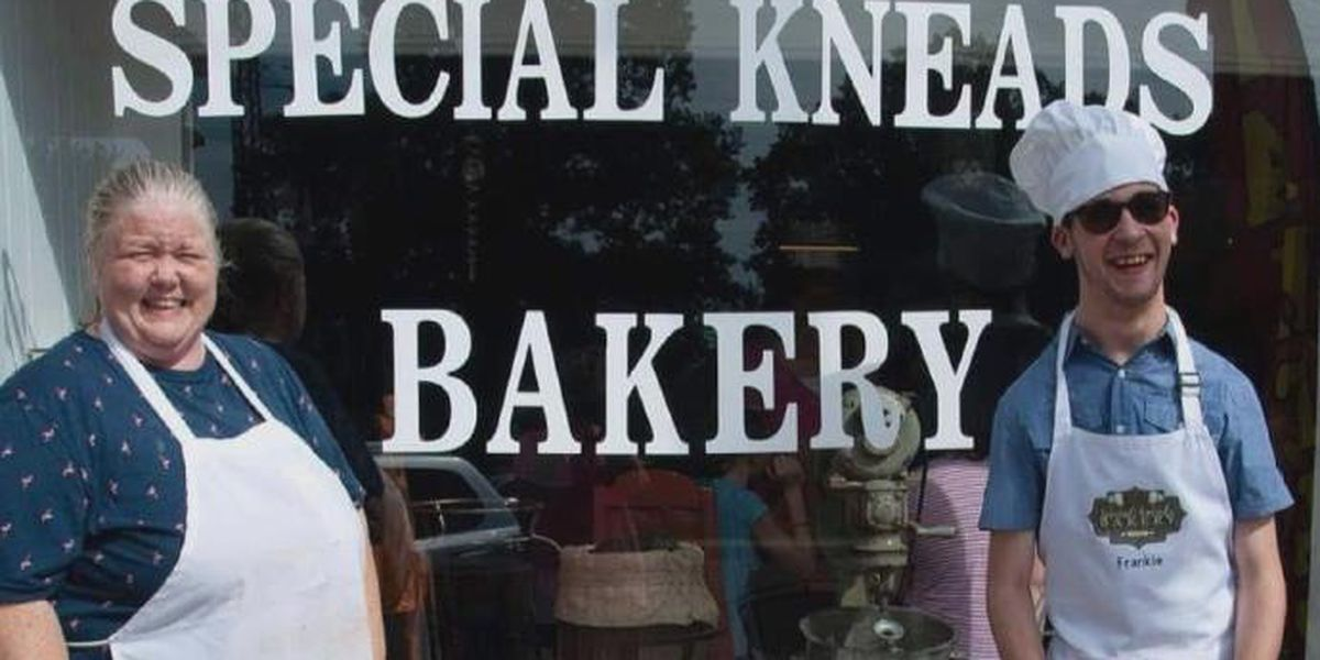 Mom opens Special Kneads Bakery to employ son with cerebral palsy