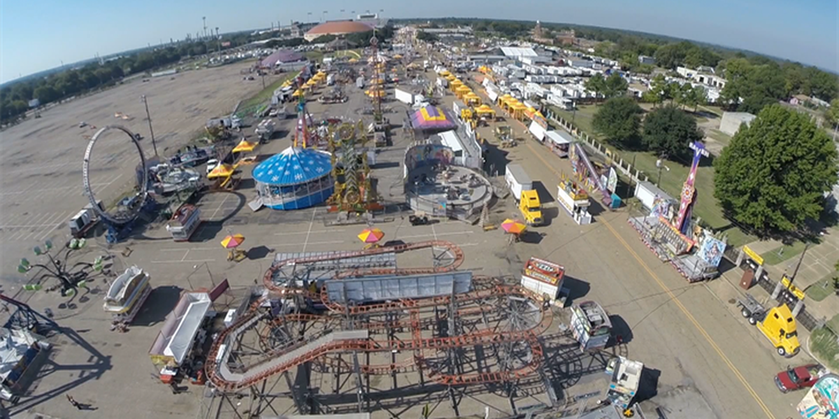 LA State Fair set-up well underway for Thursday opening
