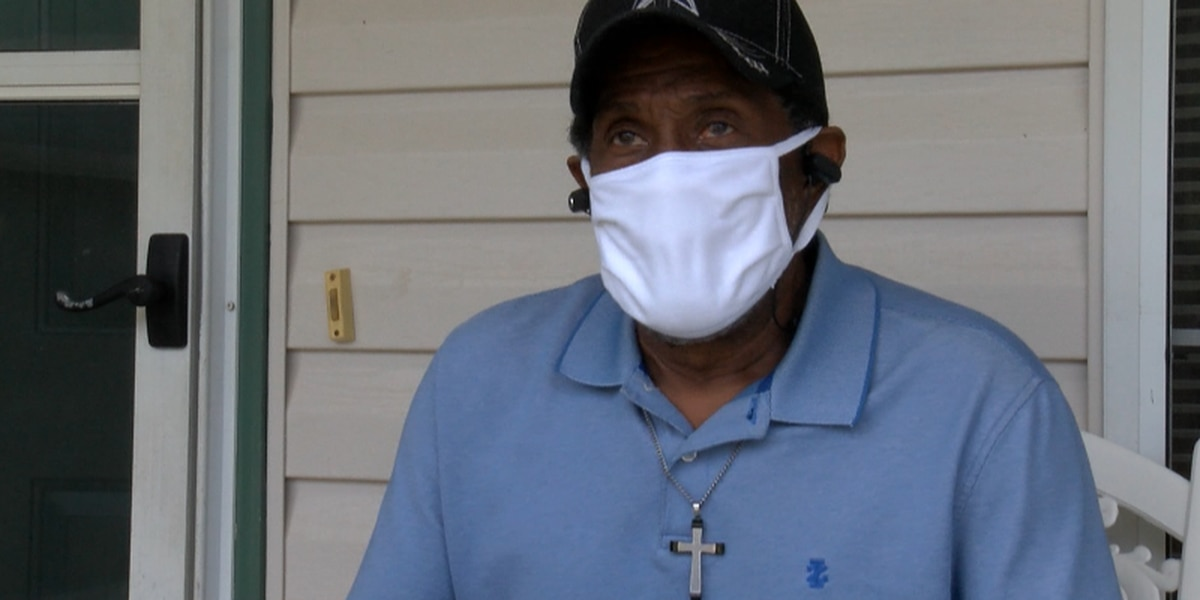 North Louisiana man endures 5 weeks of isolation on his long road to recovery from the COVID-19 virus