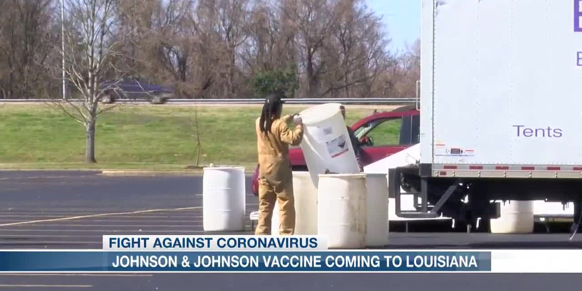 Louisiana setting up sites to administer Johnson & Johnson's one-hit COVID-19 vaccine