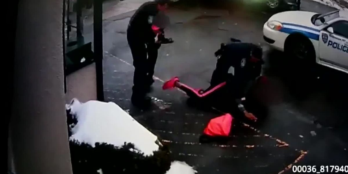 Police release body cam of mother being arrested, pepper sprayed near toddler