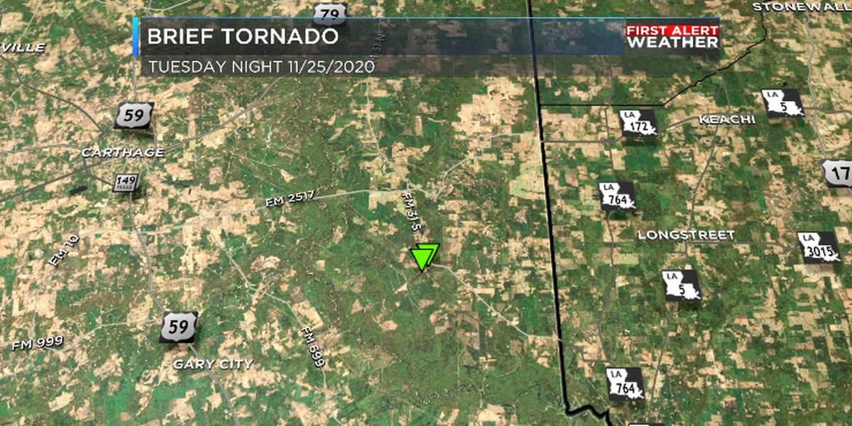 NWS: Brief tornado touched down with storms more than a week ago