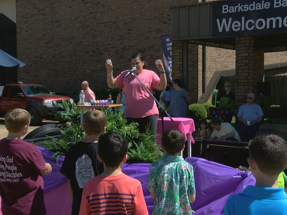 Bossier church takes Easter egg hunt to new levels