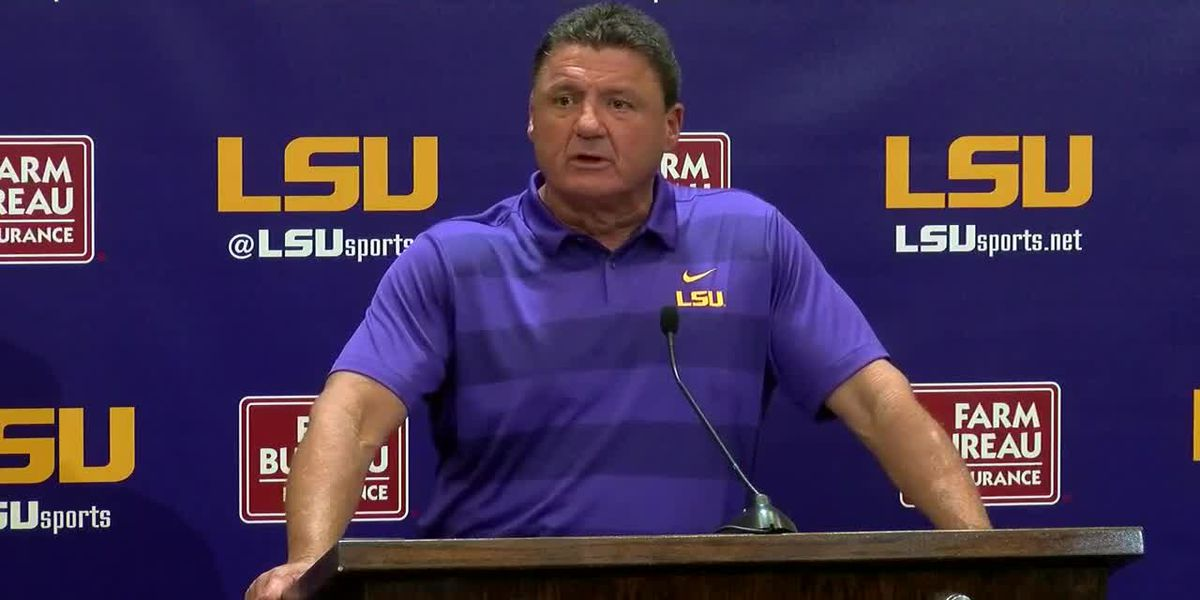 Coach O previews LSU football fall camp